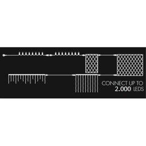 Top-Line Lyskæde Startsæt, 50 LED