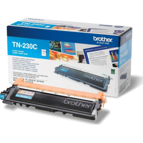 Brother TN230C lasertoner, blå, 1400s