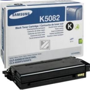 Samsung CLT-K5082S lasertoner, sort, 2500s