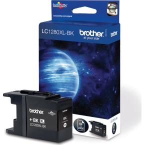Brother LC1280XL blækpatron, sort, 2400 s