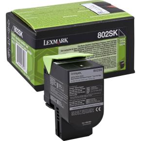 Lexmark 80C20Y0 toner gul 1000 s.