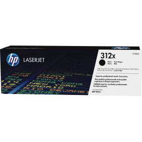 HP nr. 312X/CF380X Lasertoner, Sort, 4400 s.