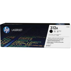 HP nr. 312A/CF380A Lasertoner, Sort, 2400 s.