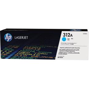 HP nr. 312A/CF381A Lasertoner, Blå, 2700 s.