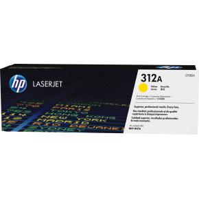 HP nr. 312A/CF382A Lasertoner, Gul, 2700 s.