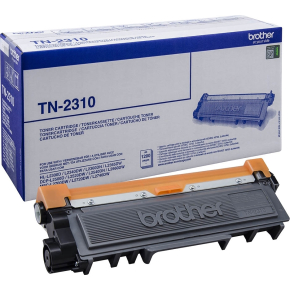 Brother TN2310 Lasertoner, sort, 1200 s.