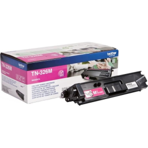 Brother TN326M Lasertoner, magenta, 3500 s.