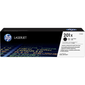 HP 201X/CF400X Lasertoner, sort, 2800 s.