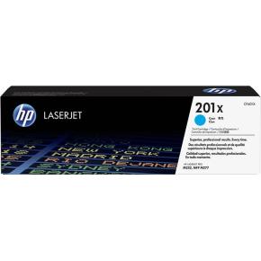 HP 201X/CF401X Lasertoner, cyan, 2300 s.