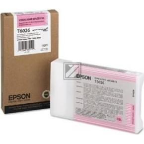 Epson C13T602600 blækpatron, lys rød, 110ml
