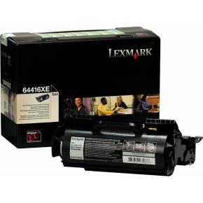 Lexmark 64416XE lasertoner, sort, 32000s