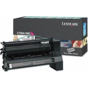 Lexmark C780A1MG lasertoner, rød, 6000s