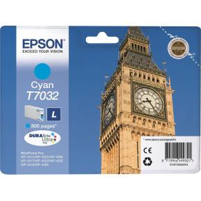 Epson nr.T7032/C13T70324010 blækpatron, blå, 800s