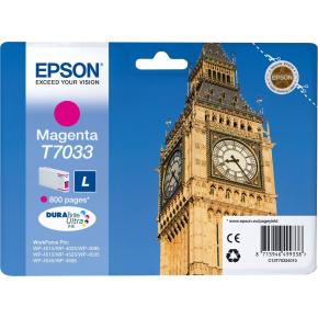 Epson nr.T7033/C13T70334010 blækpatron, rød, 800s