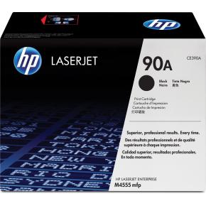 HP nr.90A/CE390A lasertoner, sort, 10000s