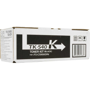 Kyocera TK-540K/0T2HL0EU lasertoner, sort, 5000s