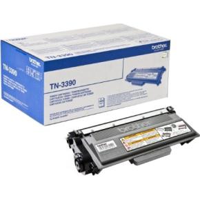 Brother lasertoner TN3390 12000 sider sort