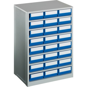 Lagermag XL inkl 24 x systemkas 4 (400x183x81),blå
