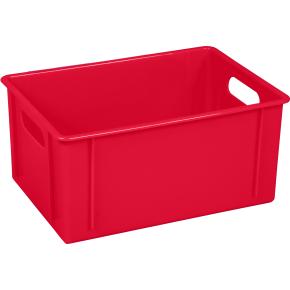 Klodskasse, 11 l, 340x240x160, Rød