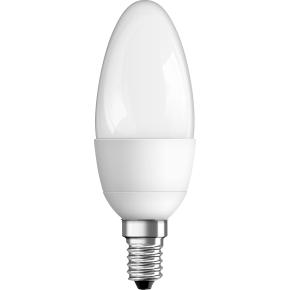 Osram LED Kertepære E14, 6W=40W, dæmpbar