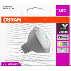Osram LED Spotpære GU5.3, 3W=20W