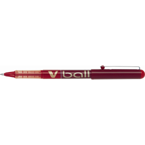 Pilot V-Ball 07 rollerpen, rød