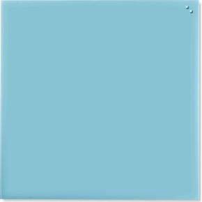 Glassboard magnetisk glastavle 100x100 cm, turkis