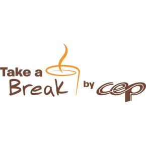 Take a Break serveringsbakke, sort