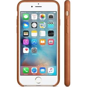 Apple iPhone 6s Plus Leather Case, rødbrun