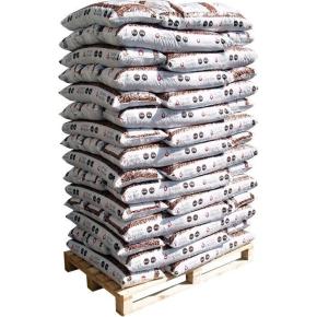 Danske træpiller 6 mm - 60x16 kg = 960 kg