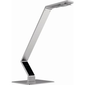 Luctra bordlampe linear m/bordfod aluminium