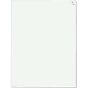 Glassboard magnetisk glastavle 60x80 cm, hvid