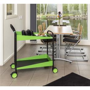 Elegance rullebord, 866x503x980, 150 kg, grøn
