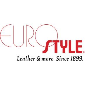 Eurostyle A4 dokumentmappe, ægte skind, sort