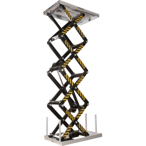 Silverstone el-løftebord, 1000 kg, 706-4210 mm