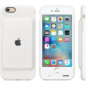 Apple iPhone 6s Smart Battery Case, hvid