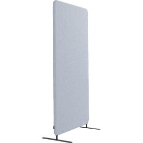 Softline Light skærmvæg 120x150 cm lys grå m/ ben