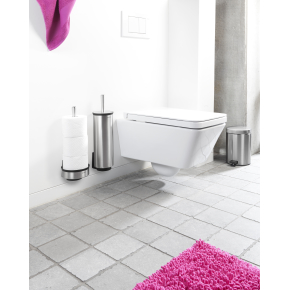 Brabantia Toiletrulle dispenser t/væg, mat stål