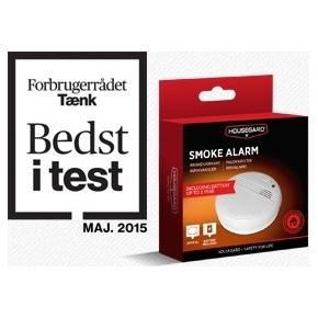 test af røgalarmer