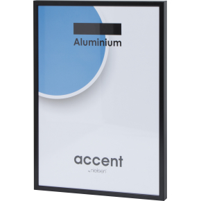 Accent Skifteramme 70 x 100 cm, sort
