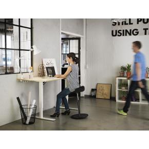 Move balancestol sort stel og sort betræk