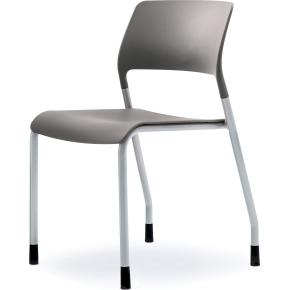 Multi kantine/konferencestol Grå/sølvfarvet