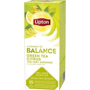 Lipton Grøn te med citrus, 25 x 2g