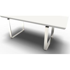 Mr. Box sofabord hvid/sølvfarvet B160
