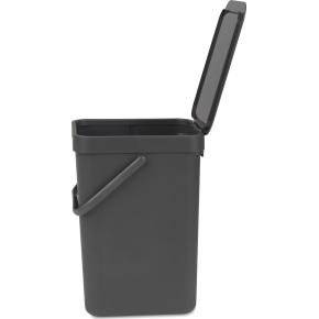 Brabantia Sort&Go Sorteringsspand 12 liter, grå