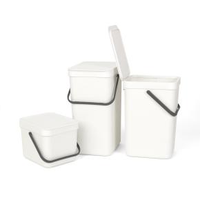 Brabantia Sort&Go Sorteringsspand 6 liter, hvid