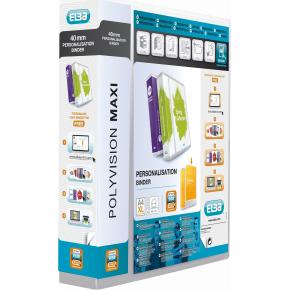 Elba MaxiVision indstiksringbind A4+, 4ringe, 60mm