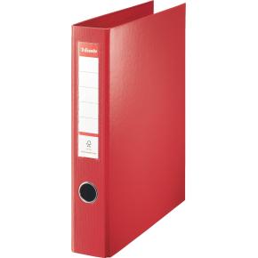 Esselte Combi Ringbind, 4 ringe, 40mm, rød