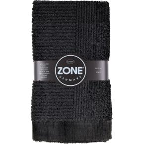 Zone Confetti håndklæde 50x70cm, sort