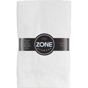 Zone Confetti håndklæde 50x100cm, hvid